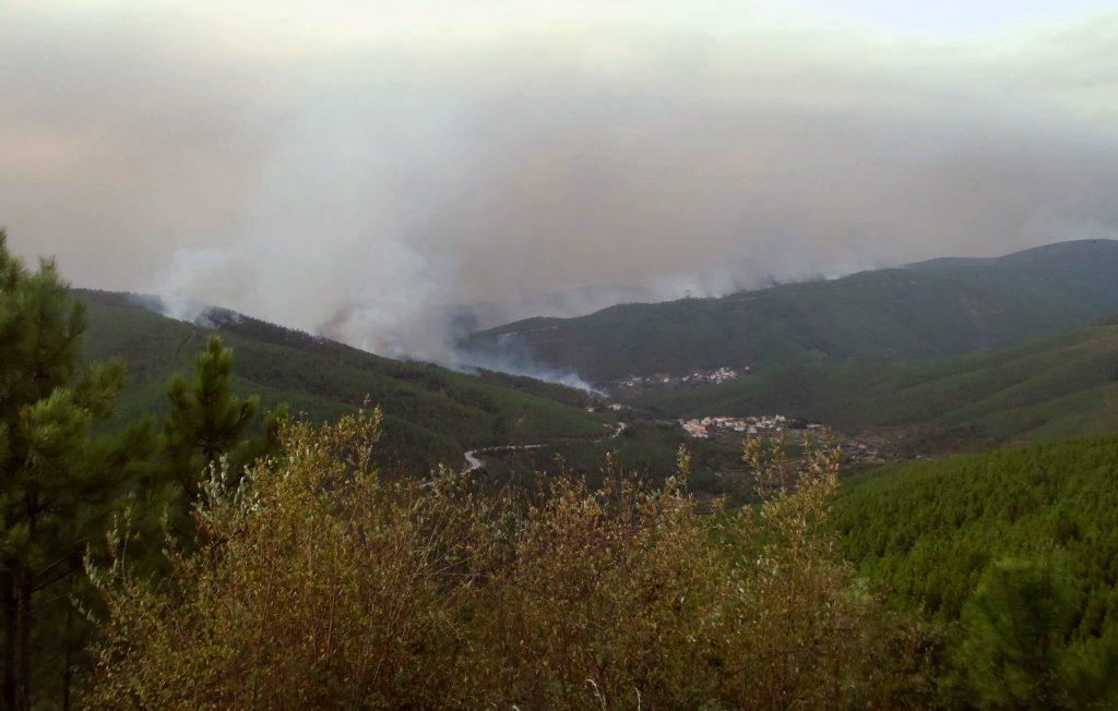 wild fire portugal