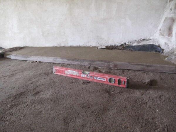 earthen floor