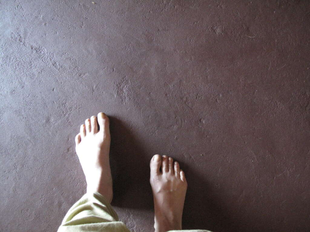 earthen floor